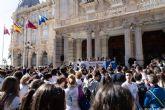 Más de 400 estudiantes del IES Elcano participan en la I Marcha Solidaria
