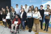 San Pedro del Pinatar premia a 15 alumnos excelentes en bachillerato y grados universitarios