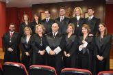 La nueva junta de gobierno del Colegio de Abogados de Murcia toma posesión de sus cargos