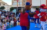 Los más pequeños disfrutan del carnaval infantil en San Pedro del Pinatar con música y animación