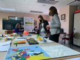 Alumnos del colegio Santa Isabel de Alquerías conocen la labor de la ONCE a través de una visita virtual