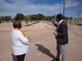 El Ayuntamiento de Los Alcázares realiza diversos trabajos de mejora y conservación en la Urbanización La Dorada