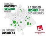 IU-Verdes Murcia asegura que se pueden plantar un millón de árboles ya