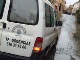 Una avería en una tubería del agua en la calle San Ramón va a provocar el corte en el suministro durante varias horas