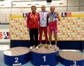 Otra plata y otro bronce para el atleta torreño Ángel Salinas en los Campeonatos de España de veteranos