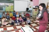 Un total de 30 niños y niñas participan en el proyecto 'Holidays 3.0', edición de Semana Santa, en el CEIP 'Santiago'