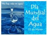 Manifiesto del PSOE por el Día Internacional del Agua