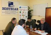 Ciudadanos Cartagena se reúne con la nueva Junta Directiva de Hostecar para encontrar soluciones que dinamicen el sector