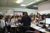 Los escolares visitan el Ayuntamiento de Puerto Lumbreras para conocer su funcionamiento