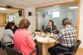 El alcalde visita las nuevas instalaciones de Onda Regional en Cartagena