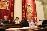 Ciudadanos exige en el Pleno el arreglo de plazas y medianas en Cartagena, Barrio Peral y Los Dolores