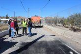 Puerto Lumbreras adecúa sus caminos rurales para mejorar el tránsito de vehículos