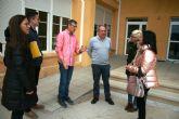 La Dirección General de Centros Educativos se compromete a ejecutar los proyectos de acondicionamiento térmico e impermeabilización de los colegios 'Santiago' y 'Santa Eulalia'