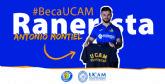 Antonio ´Ranerista´ Montiel, nuevo jugador profesional de FIFA becado por la UCAM