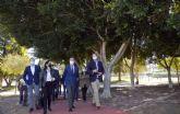 El Jardín de Tirocosa, la gran zona verde de Espinardo de 25.000 m2 que cuenta con la primera pista de trialbici del municipio