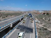 Mejoran la seguridad vial de los 13.000 usuarios que diariamente transitan por la autovía que une Totana con Mazarrón