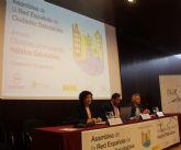 La alcaldesa de Puerto Lumbreras participa en la Asamblea de la Red Española de Ciudades Saludables