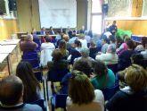 La alcaldesa asiste a la clausura de la semana cultural del centro de educación para adultos de la comarca