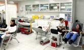 Los trabajadores de ELPOZO ALIMENTACI�N se vuelcan en la donaci�n de sangre.