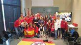 La consejera Martínez-Cachá recibe a los integrantes del Club Warriors de Mula