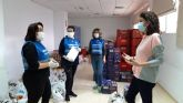 La despensa solidaria 'Archena te Cuida' supera las 600 familias atendidas