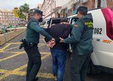 La Guardia Civil detiene a un experimentado delincuente por varios robos en Mazarrón
