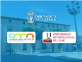 El Ayuntamiento y la UMU suscriben un convenio de colaboración para regular las actividades de la sede de la Universidad Internacional del Mar en este municipio