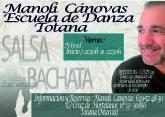 Nuevo grupo de salsa y bachata en la Escuela de Danza Manoli Cánovas