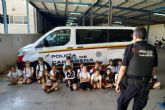 39 centros educativos visitan el Parque de Seguridad de Cartagena durante este curso escolar