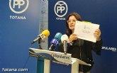Rueda de prensa del PP Totana sobre el informe económico financiero
