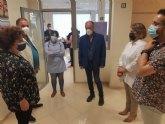 Autoridades locales asisten al acto de inauguración del nuevo Centro de la Fundación Cepaim Convivencia y Cohesión Social, en el barrio de Triptolemos
