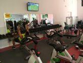 Reabre el gimnasio del Complejo Deportivo Guadalent�n tras su reforma