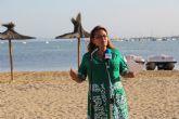 Turismo organiza Fisioterapia, Pilates y Tai Chi en las playas de San Pedro del Pinatar