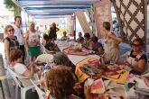 La asociación Patchwork Mar Menor lleva sus trabajos a la calle
