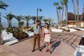 El Ayuntamiento renueva la zona ajardinada del paseo marítimo de La Puntica