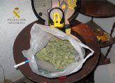 La Guardia Civil desmantela en Caravaca un punto de venta de marihuana regentado por un clan familiar