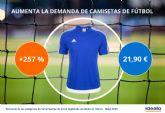 La demanda de camisetas de fútbol se dispara con la vuelta de La Liga