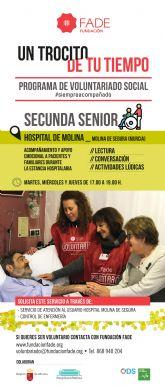 Hospital de Molina y Fundación FADE renuevan su colaboración para acompañar a pacientes ingresados