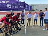 El Velódromo de Torre Pacheco vuelve a acoger deportistas