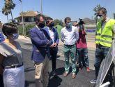 La Comunidad invierte más de 920.000 euros en reparar caminos rurales y mejorar las conexiones entre Murcia y Santomera
