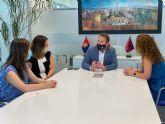 El Alcalde de Torre Pacheco recibe a la nueva Directora Regional del Banco Sabadell