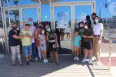 El aula abierta del colegio Los Pinos participa en el proyecto 'Pictogramizando San Pedro'