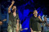 El alcalde compartió escenario con el cantante Muerdo en La Mar de Músicas