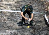 La Guardia Civil esclarece un incendio por imprudencia