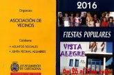 Vista Alegre despedirá julio con su tradicional romería, juegos infantiles y pasacalles