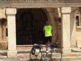 Julián Larroya peregrina de Totana a Mérida recorriendo más de 700 km por su devoción a Santa Eulalia