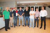 El Concejal Fulgencio García clausura el curso federado de entrenadores de fútbol que se ha celebrado en Archena