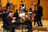 La Orquesta Sinfónica de la Región actúa con Carlos Piñana en el 40 aniversario del Festival Internacional de Lo Ferro