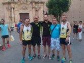 Atletas del Club Atletismo Totana participaron en la Carrera Fiesta de Santiago y en los 10 km de Jumilla