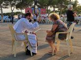 Joaquín Conesa celebra su primera misa en su tierra, Los Alcázares